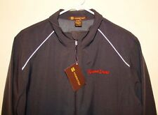 Famous Daves BBQ Harriton  Ladies Womens 2XL Charcoal Windbreaker Jacket  NWT