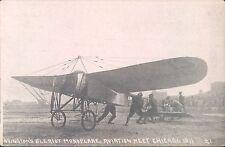 Postcard Ovington's Bleriot Monoplane Aviation Meet Chicago 1911 A7136
