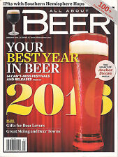 ALL ABOUT BEER January 2016 Anchor Steam Best Year Reviews Festivals Skiing Town