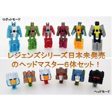 TAKARA TOMY TRANSFORMERS LEGENDS LG-EX HEAD MASTER SET ACTION FIGURE