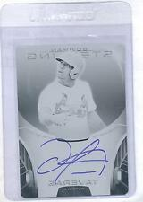 2013 Bowman Sterling Oscar Taveras Black Printing Plate...Autographed 1/1