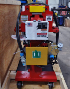Used Huth Exhaust Bending Machine (Red SS10)
