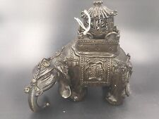A Chinese Bronze Incense Burner Elephant