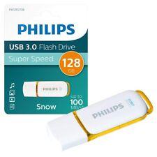 NEW 128GB Philips Snow Series USB 3.0 Flash Key Drive USB 3.0 Memory Stick 128GB