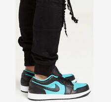 Nike Air Jordan 1 retro low Turquoise / black 12 USNew In Box
