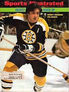 1973 11/19 Sports Illustrated, Hockey magazine, Phil Esposito, Boston Bruins~ Fr