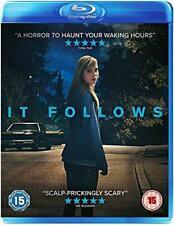 It Follows [Blu-ray], Very Good DVD, Ruby Harris, Keir Gilchrist, Daniel Zovatto