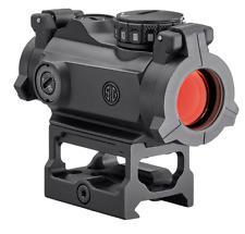 New Sig Sauer Romeo-MSR Red Dot Sight 2 MOA W/ Riser SOR72001