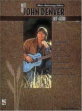 The Best of John Denver : Easy Guitar (1995, Paperback)  CHORDS and LYRICS