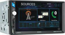 "Jensen Cmm720 Double Din In-Dash 7"" Multimedia Bluetooth Car Stereo Receiver"