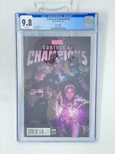 CGC 9.8 Contest of Champions 8 Rahzzah Variant Blue Marvel America Chavez