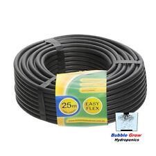 4MM X 25M EYZ FLEXI TUBE BLACK SOFT HYDROPONIC OR IRRIGATION HOSE PIPE