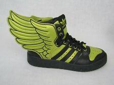 Adidas Jeremy Scott Black Gold Wing 2.0 Basketball High Top Rear Lace Size 7.5