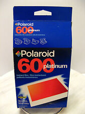 POLAROID 600 PLATINUM INSTANT FILM NEW - Use Before 08/01 Noted On Package - NOS