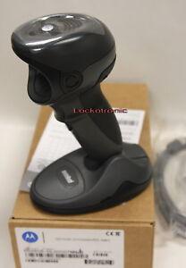 NEW Motorola Symbol Barcode Scanner DS9808 - DL USB Black Driver Lisence USB