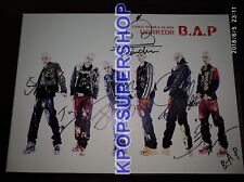 B.A.P BAP Single Album Volume 1 One Warrior Autographed Signed CD Photobook