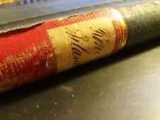 """Historisches Geschäftsbuch """"Rohe Bilanzen"""" 1878-1885 Stoffe u.a. 380 Seiten!"""