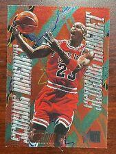 1995-96 Fleer Metal Scoring Magnet #4 Michael Jordan RARE! SHARP CARD!