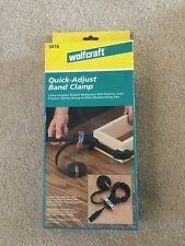 Wolfcraft Quick-Adjust Band Clamp 3416 for Irregular Shaped Woodworking NEW