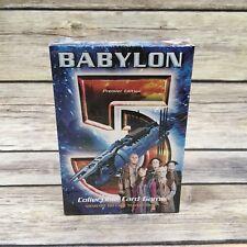 1997 Babylon 5 CCG Minbari 60 Card Starter Deck SEALED