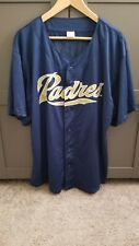 San Diego Padres Chris Young Baseball Jersey / Shirt Giveaway Xl Adult