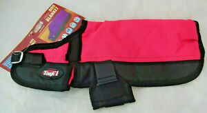 New Waterproof Dog Blanket 600D Pink Black Winter Coat Jacket Tough1 Clothes
