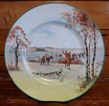 Vintage Royal Doulton Fox Hunting Round Rack Plate