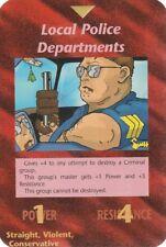 ILLUMINATI NEW WORLD ORDER CARD LOCAL POLICE DEPARTIMENTS