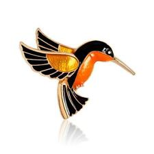 CG2499...ENAMEL HUMMINGBIRD BROOCH - FREE UK P&P