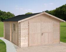 GARAGE IN DI LEGNO 432x543- 35mm casetta box auto da giardino porta attrezzi