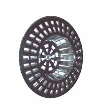 2 X Large Chrome Plated Sink Strainer Filter Hair Trap