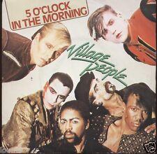 VILLAGE PEOPLE = 5 O'CLOCK IN THE MORNING = 1981 = DISCO 45 GIRI Vinile anni 80