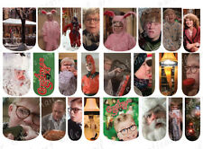 24 CHRISTMAS WATER SLIDE NAIL DECALS * A CHRISTMAS STORY *  FULL NAIL COVERS