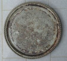Old Real Silver Jardiniere TRAY PLATE BOWL Chocolate Present Engagement Wedding