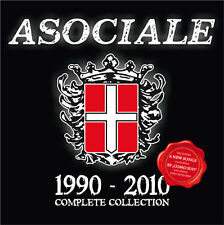 Asociale - 1990-2010 Complete Collection (CD) Neu Skin Oi Punk Klasse Kriminale