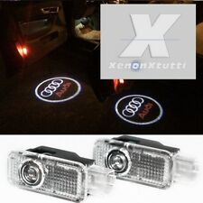 2X LED GHOST Logo Laser Proiettore Porta Sotto Puddle Luci For Audi A3 4 5 Q5 7