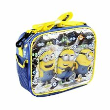 Despicable Me 2 Minion Kids School Lunch Box Bag Licensed New