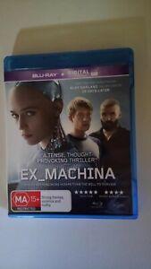 Ex-Machina (2014...Region B..Blu-Ray)