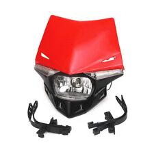 12V  Motorcycle Headlight Head Lamp Street bike Chopper Cafe Racer