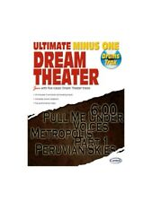 Dream Theater Ultimate Minus One Drum Trax Learn to Play MUSIC BOOK & CD