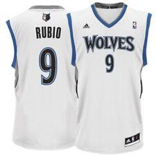 Minnesota Timberwolves Ricky Rubio Men's White NBA Jersey