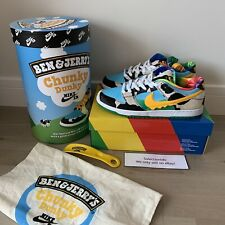 Nike SB Dunk Low Pro QS x Ben & Jerry's Chunky Dunky F&F Special Box UK9 US10