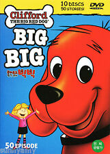 Clifford The BIG Red Dog - DVD Boxset - 50 Episodes on 10 DVDs = 580mins (NEW)