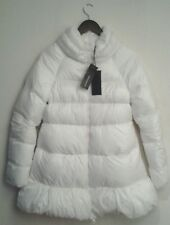 ERMANNO SCERVINO Off-White Down Jacket - UK 16 / Italian 48 / Large RRP £850.00