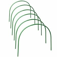 Plastic Hoops Greenhouse Hoops for Plant Cover Support Grow Tunnel Plant Stent