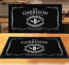 The Garrison bar runner Rum whiskey vintage style mat