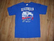Buffalo Bills 2011 'Two Bills Drive' Jim Kelly Tailgate T-Shirt men's size-Med
