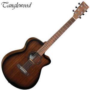 Tanglewood Crossroads Acoustic Electric Guitar Super Folk with Pickup TWCRSFCE