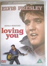 Elvis Presley DVD Loving You 25th Anniversary Edition Region 2