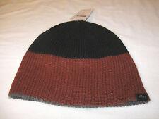 O'Neill Knit cap beanie One Size Navy/Burgundy NWT